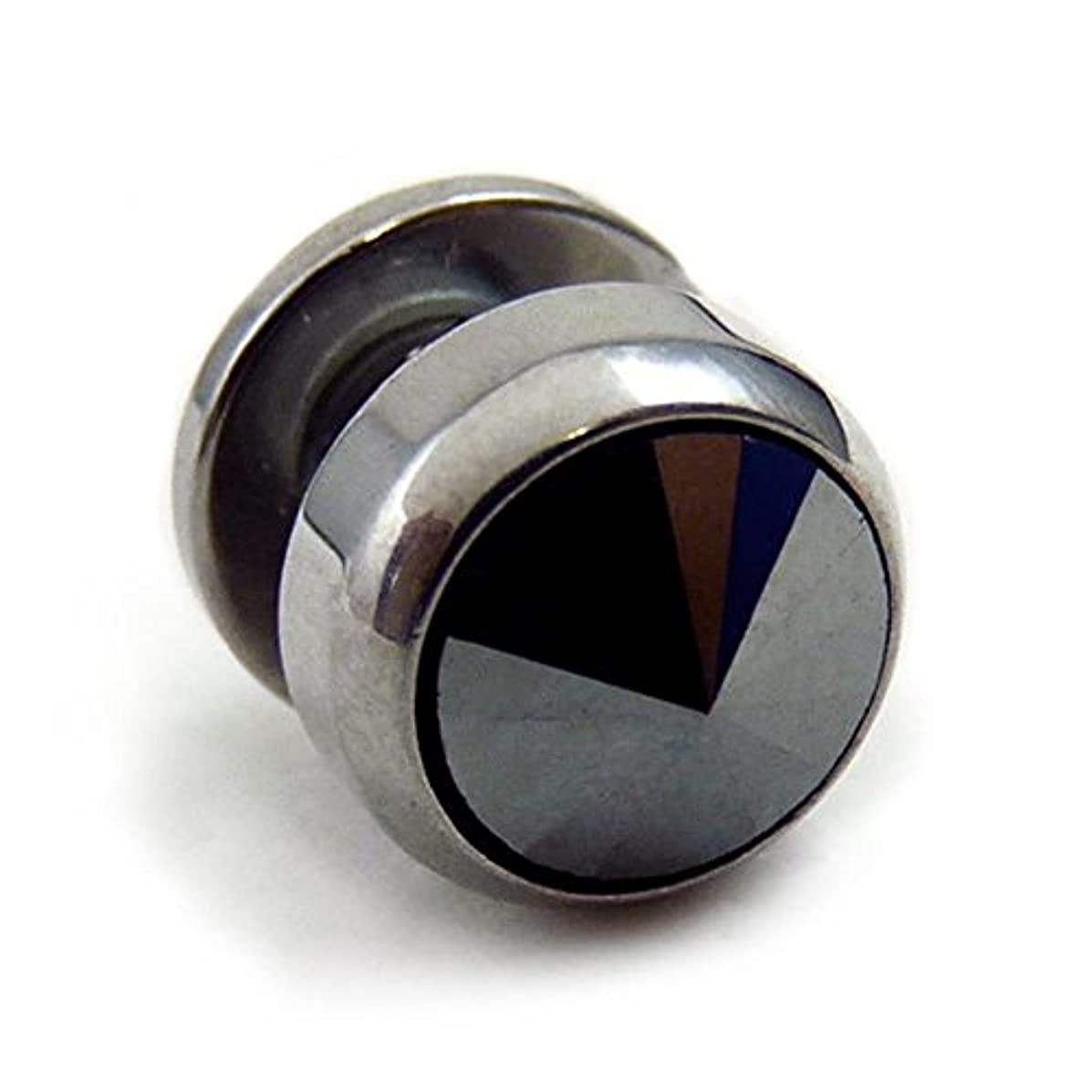 無線ぼんやりした異常スワンユニオン swanunion fp19 丸型 片耳 磁石 マグピ ステンレス製 フェイクピアス fp19-L