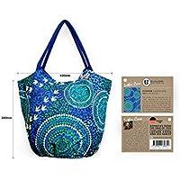 Bag Shopper Aboriginal Design - Wet Design - Luther Cora
