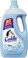 Cuddly Concentrate Fabric Softener Conditioner Sunshine