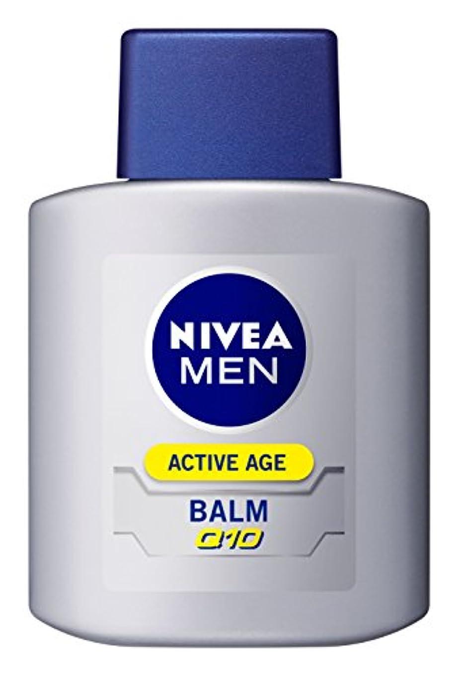 インレイ適切な繊維ニベアメン アクティブエイジバーム 100ml 男性用 乳液 エイジングケア
