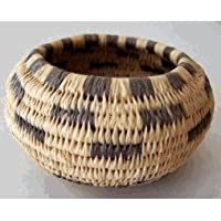 Traditional Coiled Basket Weaving Kit (makes one 3in. - 4in. Basket, Basic version) by Wildwoods Craft Kits