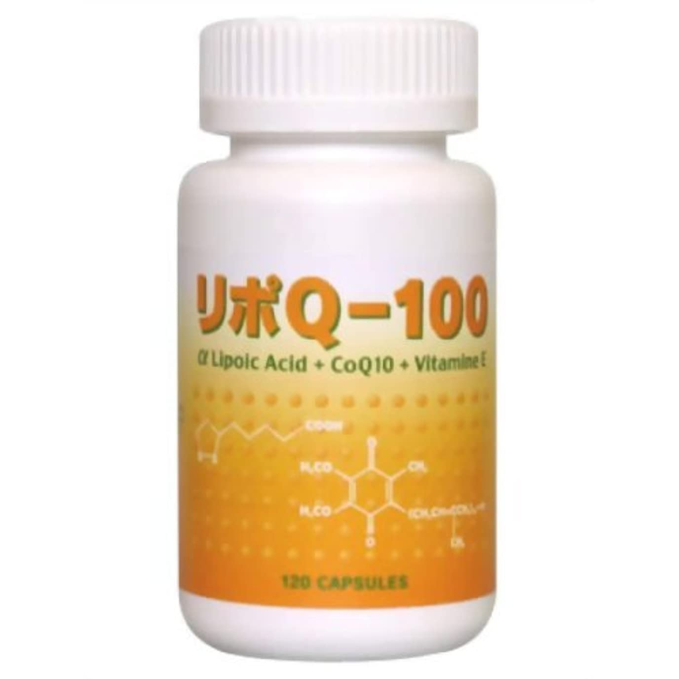 慈悲シュガーフラップリポQ-100 120カプセル(アルファリポ酸/αリポ酸配合)
