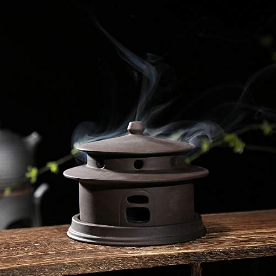 歌うミネラル平均PHILOGOD 陶器香炉 線香立て仏壇用 クリエイティブモデリング手作り 香皿