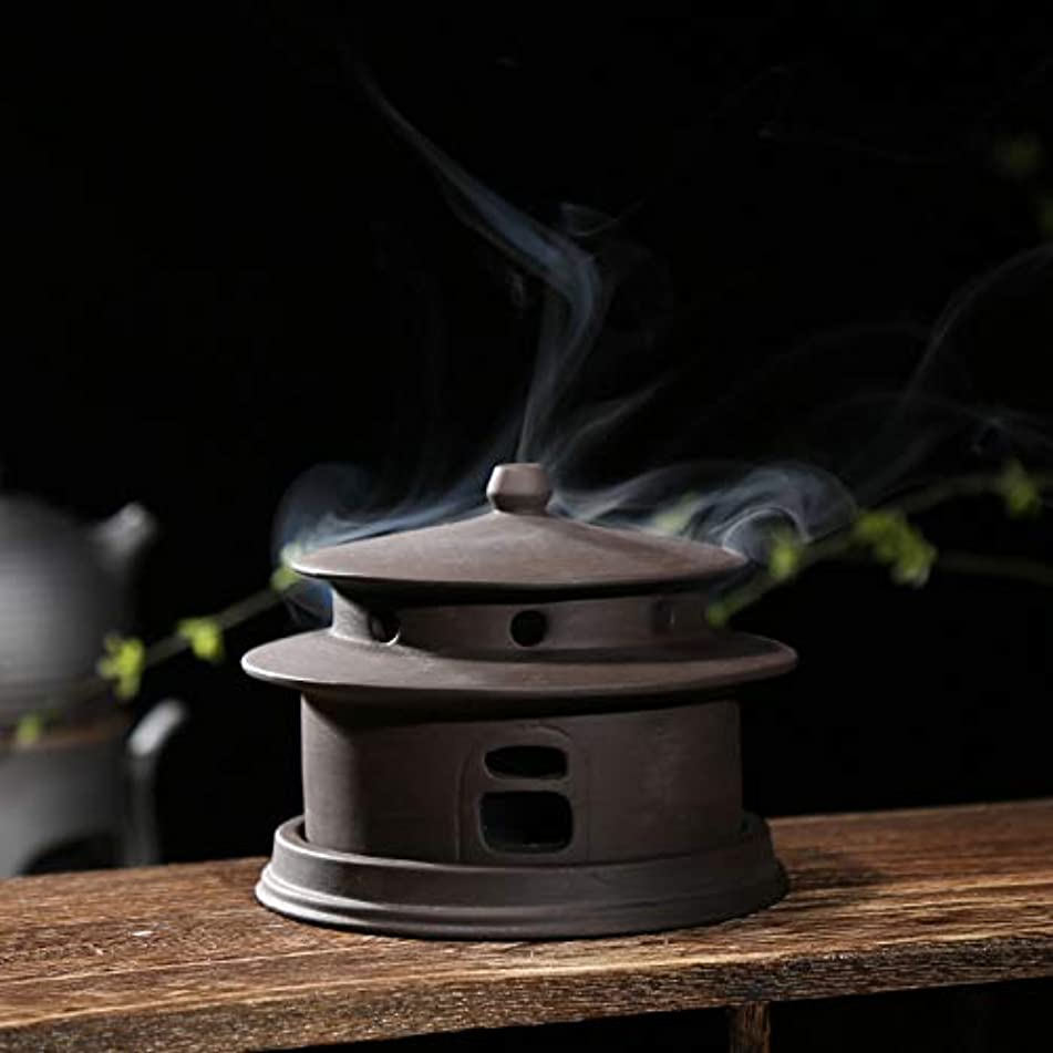 バング中世の眠いですPHILOGOD 陶器香炉 線香立て仏壇用 クリエイティブモデリング手作り 香皿