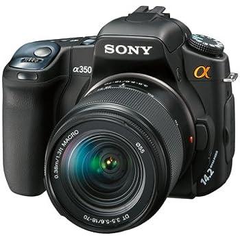 ソニー SONY デジタル一眼レフ α350 レンズキット DT 18-70mm F3.5-5.6付属 DSLR-A350K
