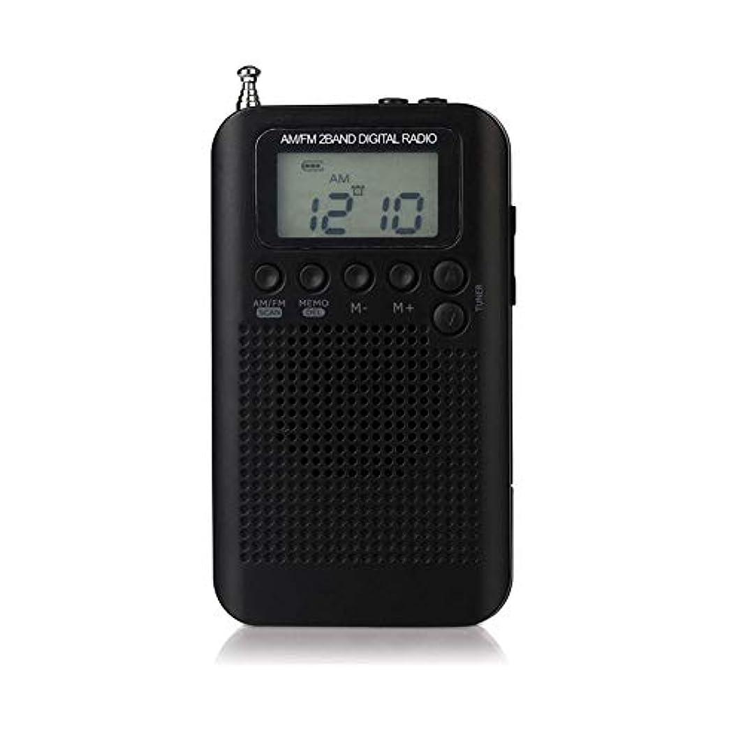 マージトンバイソン防災ラジオ AM/FMラジオ AM FM 2つのバンド ラジオ ハン?ロンダHRD-104   ポータブル 外部 スピーカー ミニ 周波数受信範囲:FM:64-108MHz / AM:522-1710khz(9K)/ 520-1710KHz(10K)