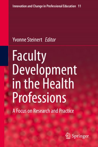 Faculty Development in the Health Professions: A Focus on Research and Practice: 11 (Innovation and Change in Professional Education)