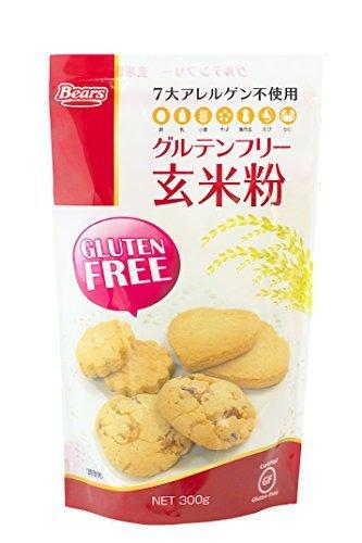グルテンフリー 玄米粉 300g 熊本製粉株式会社