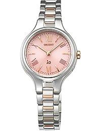 [オリエント]ORIENT 腕時計 iO イオ ナチュラル&プレーン ソーラー電波 ピンク WI0121SD レディース