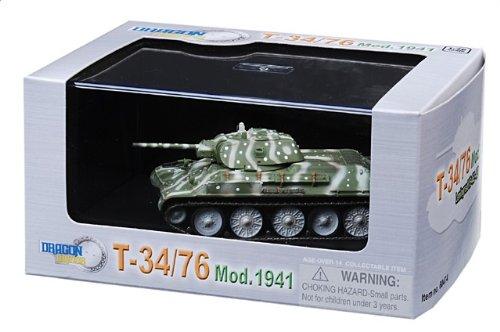 1:72 ドラゴンモデルズ アーマー コレクター シリーズ 60474 KMDB T-34 ディスプレイ モデル Soviet アーミー Leningrad USSR 1942 (T-34/76)【並