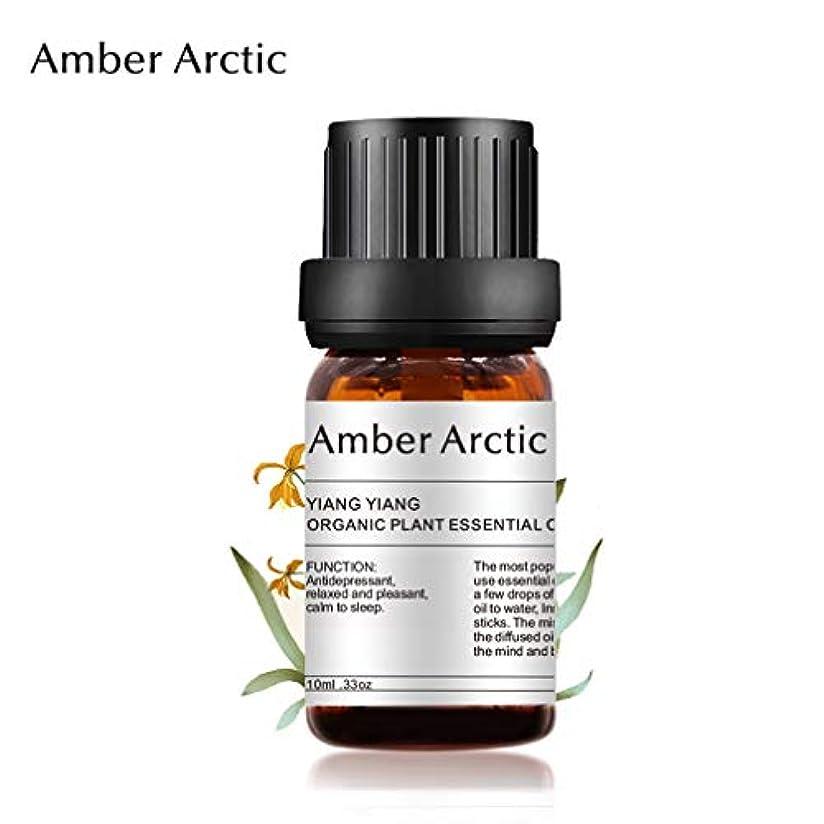 状聖なる機械的AMBER ARCTIC エッセンシャル オイル 100% ディフューザー 用 純粋 新鮮 有機 植物 療法 イランイラン オイル 10Ml/0.33Oz イランイラン