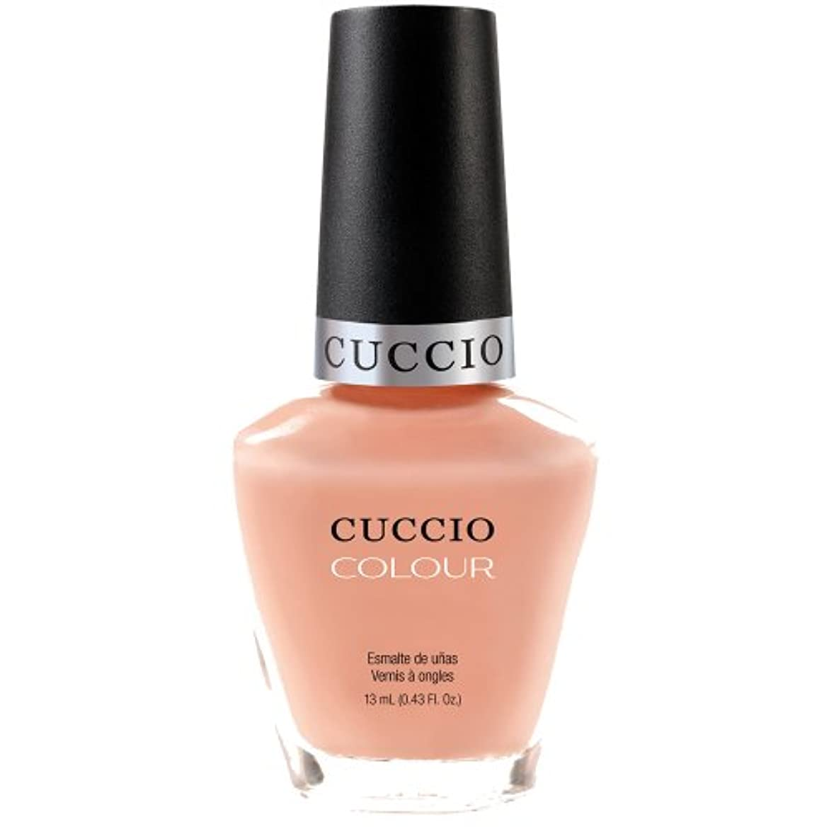目を覚ますライセンス放映Cuccio Colour Gloss Lacquer - Life's A Peach - 0.43oz / 13ml