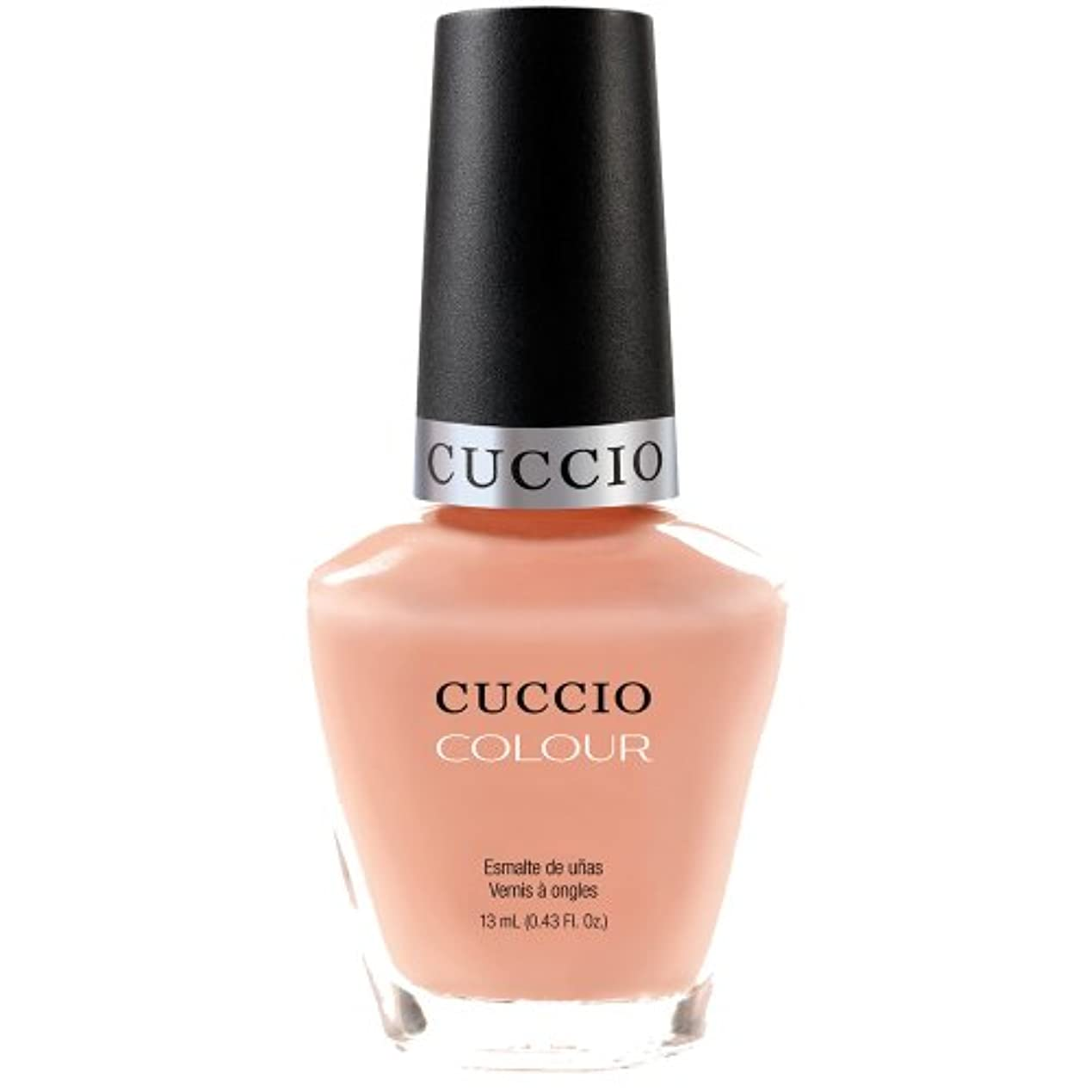 絶縁する安心させるつかまえるCuccio Colour Gloss Lacquer - Life's A Peach - 0.43oz / 13ml