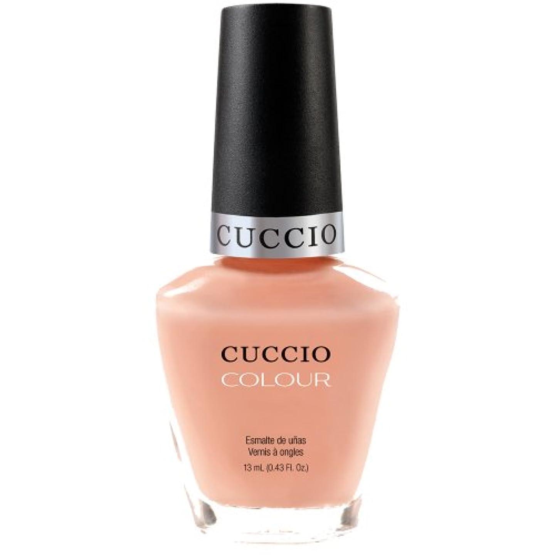 版二十普遍的なCuccio Colour Gloss Lacquer - Life's A Peach - 0.43oz / 13ml
