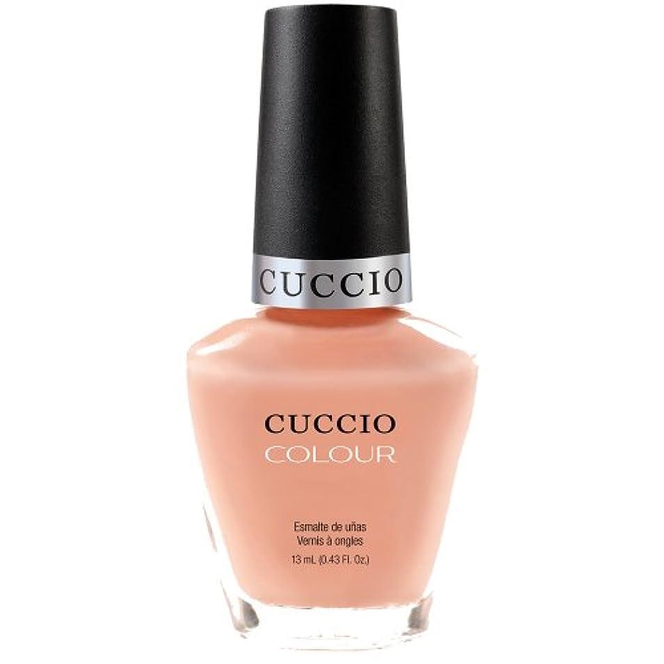 ガード意図する波Cuccio Colour Gloss Lacquer - Life's A Peach - 0.43oz / 13ml