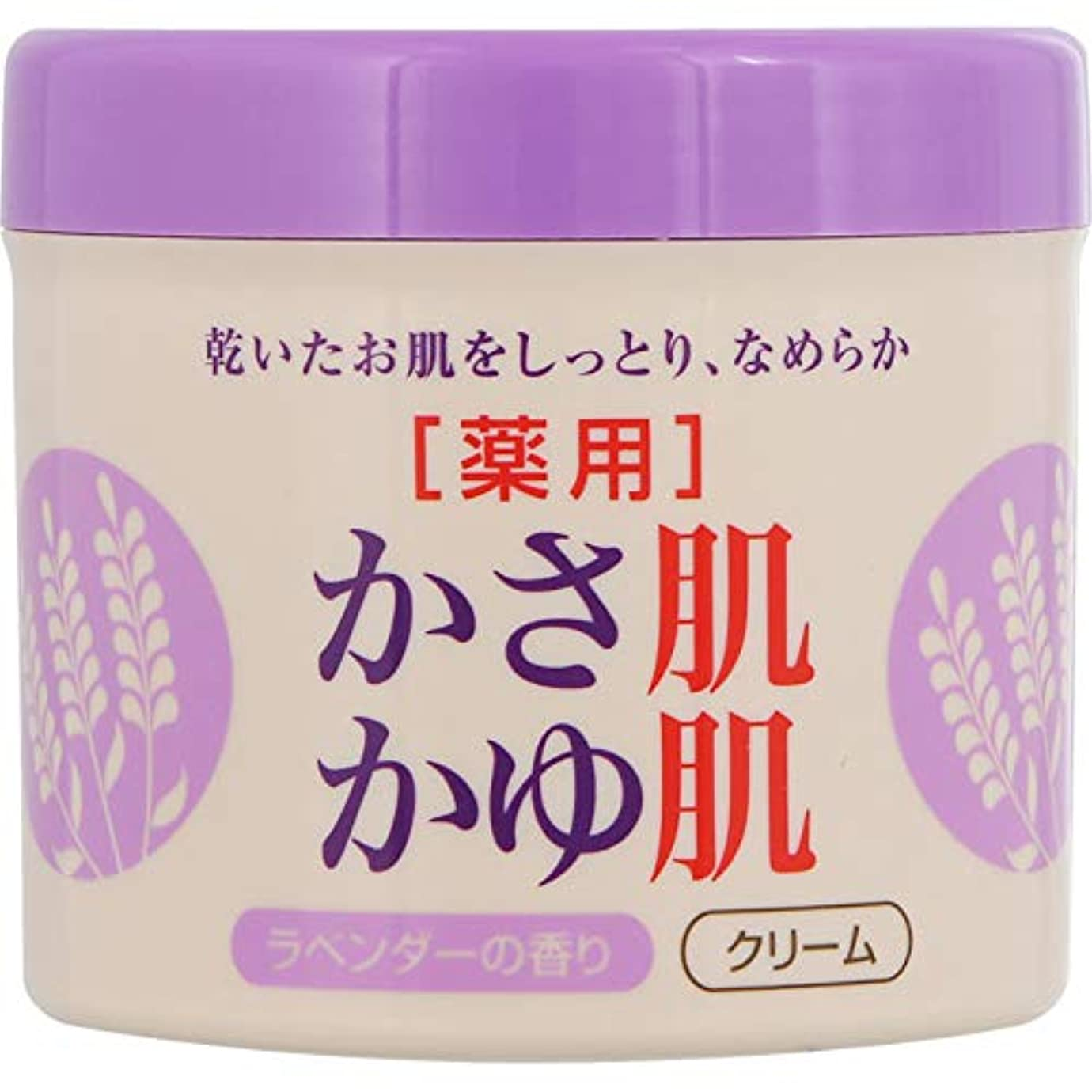伝導遵守する危険な薬用かさ肌かゆ肌ミルキークリーム ラベンダー 280g (医薬部外品)