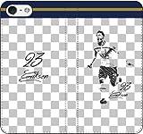 iPhone/Xperia/Galaxy/他機種選択可:携帯ケース/手帳型/サッカー/グラフィティ手帳ケース(デザイン:トッテナム/23番_01) 04 iPhone6Plus/6sPlus