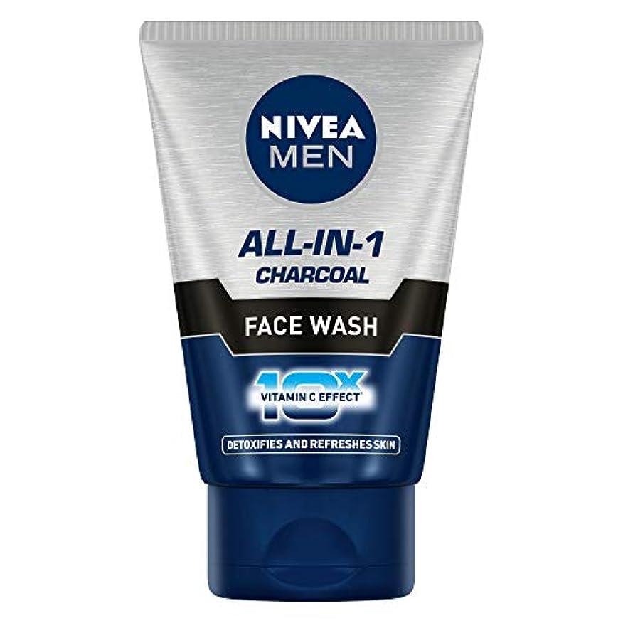 受益者捨てる発動機Nivea Men All In 1 Face Wash, 100gm