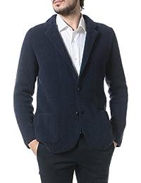 (ラルディーニ) LARDINI ウール混 無地 シングル ニットジャケット [【LDIB47015】] [並行輸入品]