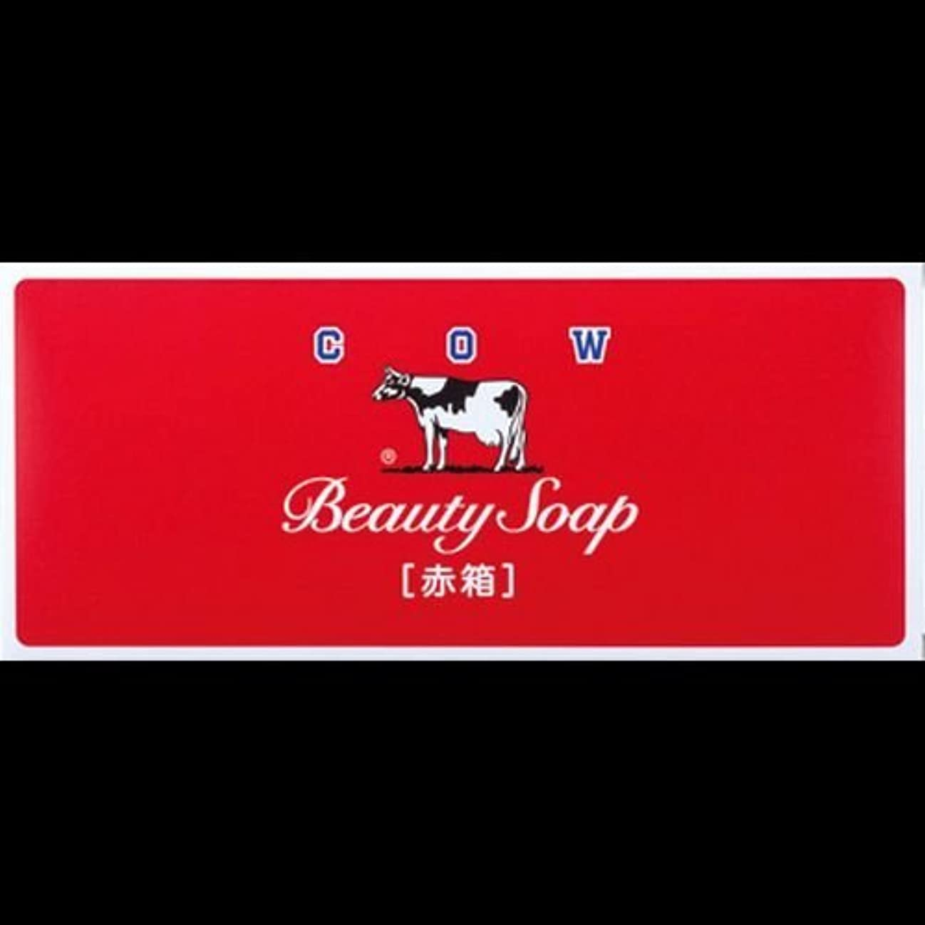 材料支援関係する【まとめ買い】カウブランド石鹸 赤箱100g*6個 ×2セット