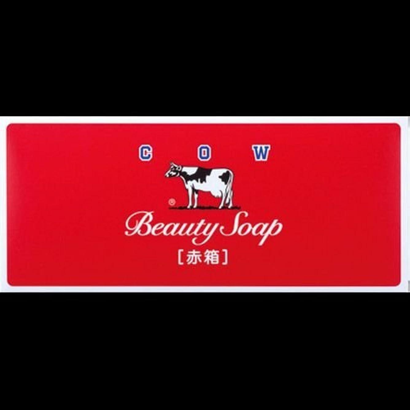 紀元前平方初期【まとめ買い】カウブランド石鹸 赤箱100g*6個 ×2セット