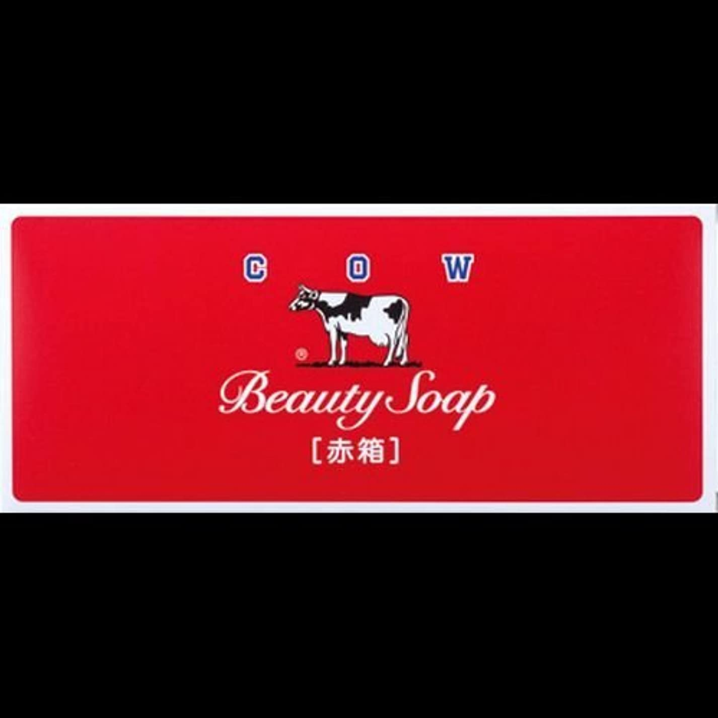 説得先行する拘束する【まとめ買い】カウブランド石鹸 赤箱100g*6個 ×2セット