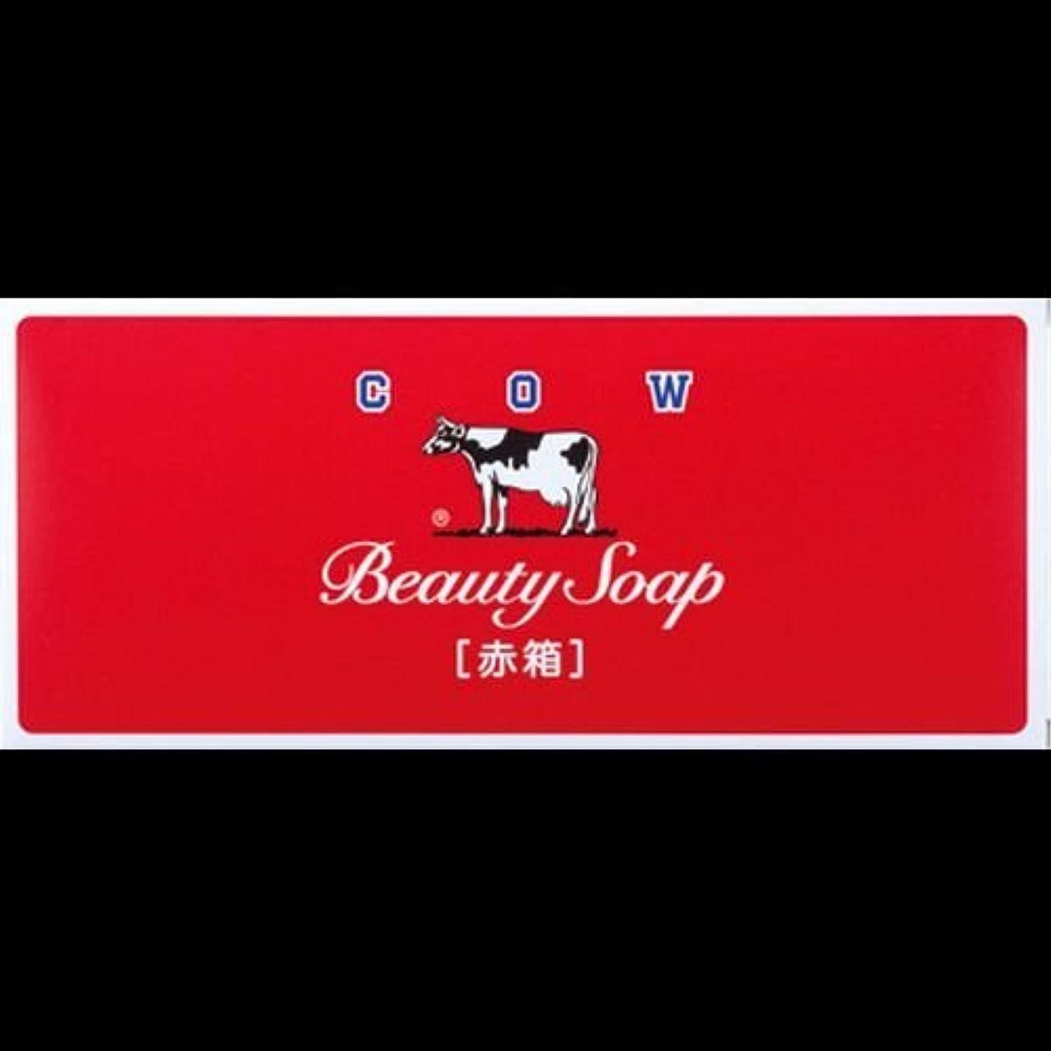 二層スティックブロック【まとめ買い】カウブランド石鹸 赤箱100g*6個 ×2セット