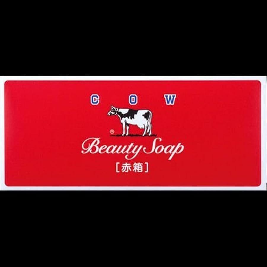 社会科ピッチャー履歴書【まとめ買い】カウブランド石鹸 赤箱100g*6個 ×2セット