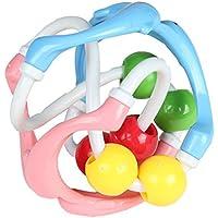 ベビーボールトイプラスチックDolphins Power Lifting Hand Bell Rattle面白いギフトベビーインテリジェンス開発玩具RattlesグラブToys