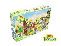 [ Little Treasure ] Little Treasures DIYビルディングブロックレンガファーム60個セットDuplo互換トイセットの3+子5052jundalong [並行輸入品]