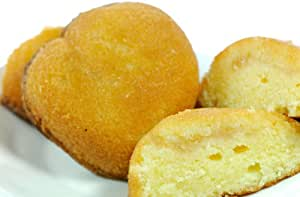 【ばら売り】 桃 ケーキ (ハート の形に ジューシィな ももの果肉入り)