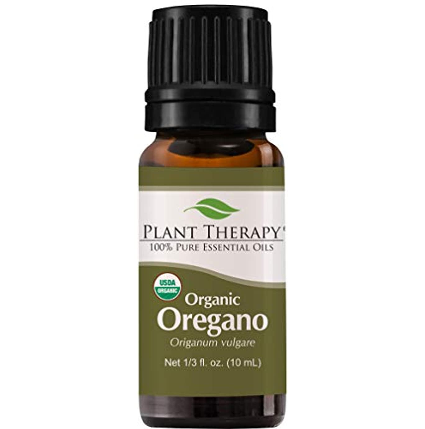 汚れるモート設計USDA Certified Organic Oregano Essential Oil. 10 ml (1/3 oz). 100% Pure, Undiluted, Therapeutic Grade. by Plant...
