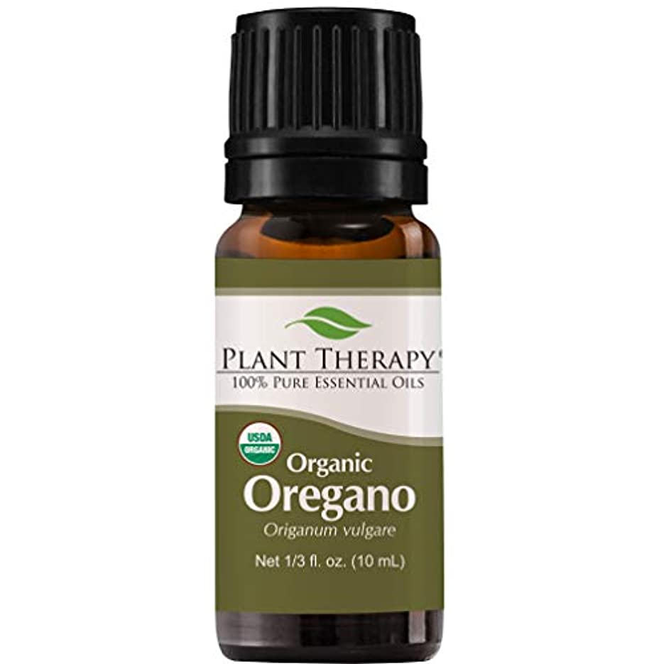 選出するクリア寛解USDA Certified Organic Oregano Essential Oil. 10 ml (1/3 oz). 100% Pure, Undiluted, Therapeutic Grade. by Plant...