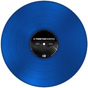 Native Instruments DJアクセサリー TRAKTOR Scratch Control Vinyl MK2 Blue