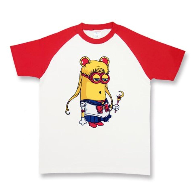 枢機卿句追放するミニオンズ Minions セーラームーン パロディ メンズ レディース ユニセックス ラグラン半袖Tシャツ