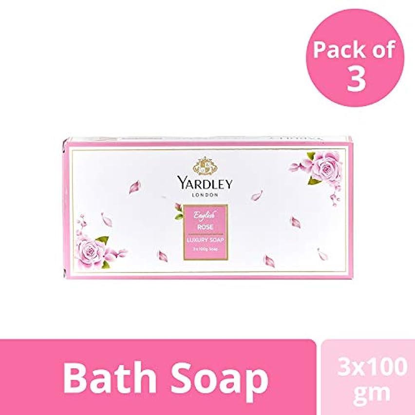 会う今晩性格Yardley London English Rose Luxury Soap Value Pack 3x100g
