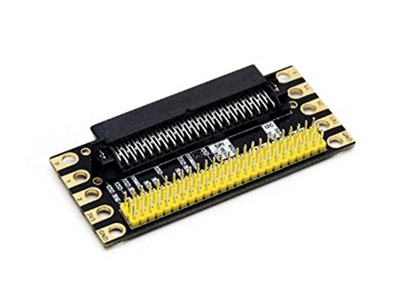 ピンポイントギター成長するXYGStudy エッジコネクタ拡張ボード Micro:bit用 I/Oピンを2.54mmピッチピンヘッダーインターフェイスへ分配