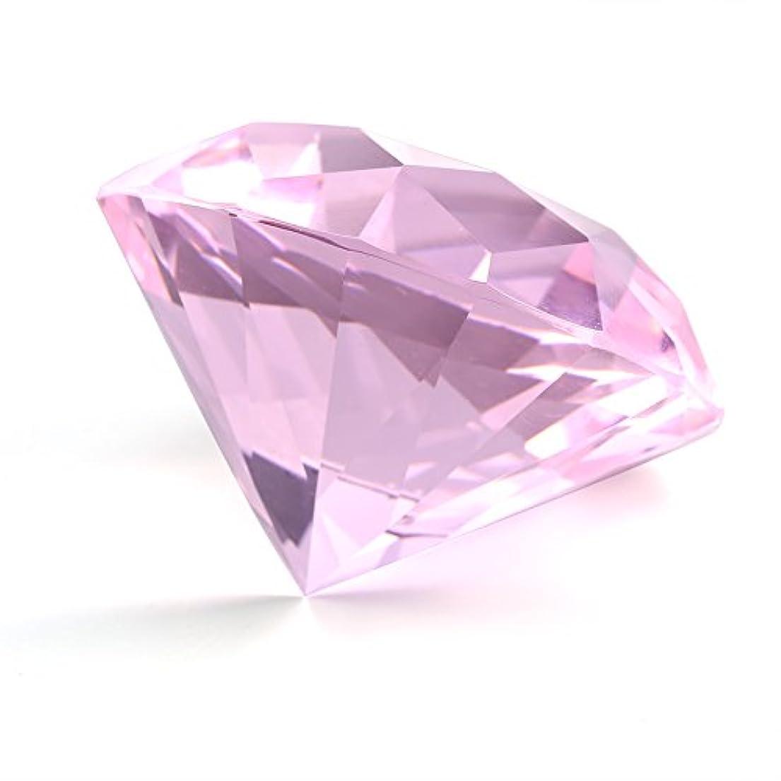 応答バンドル収束する2色 ネイルアート ディスプレイガラス、クリスタルダイヤモンドハンドモデル撮影飾りマニキュアアクセサリー(1)