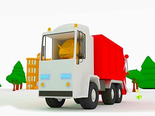 トラック、恐竜のダイノと一緒に色を学ぼう & ごみ収集車、恐竜のダイノと一緒に数字を学ぼう