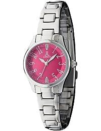 efe3585b42 [ランチェッティ]LANCETTI 腕時計 天然ダイヤモンド 三針 LT-6202S-RE レディース