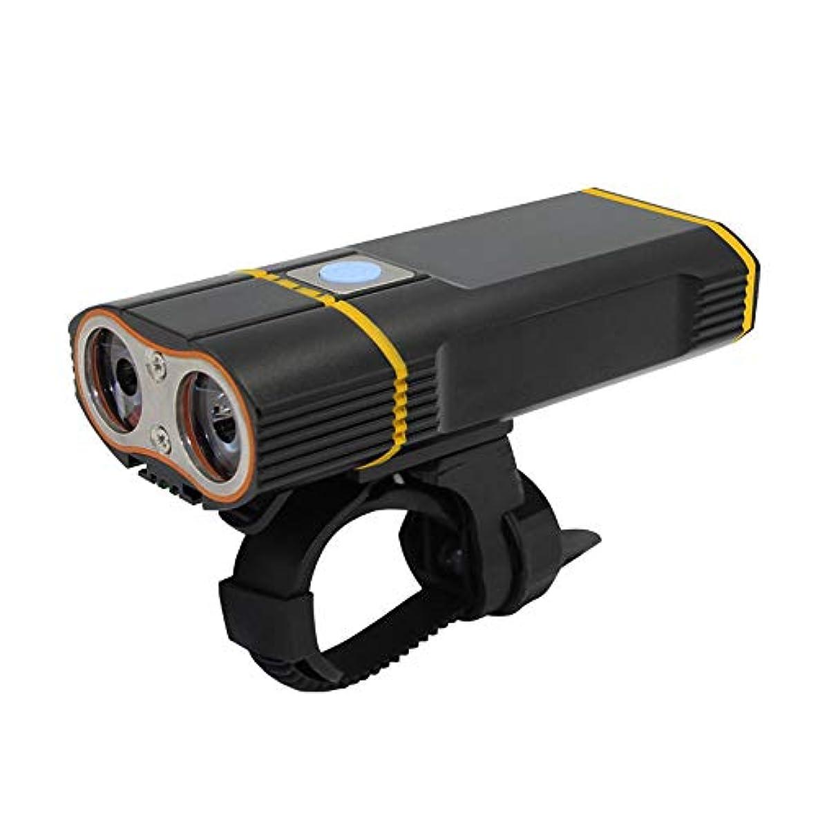 なす水銀の速記自転車用フロントライトUSB充電式LED自転車ライト、クリー族XML-L2自転車ライト、防水安全ロードバイクライト、2000ルーメン自転車サイクリングMTBマウンテンライトサイクリング懐中電灯