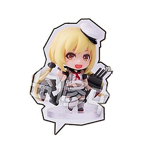 MIZIMO モラリリンQ 戦艦少女R アドミラル・シェーア PVC製 塗装済み完成品 ミニフィギュア