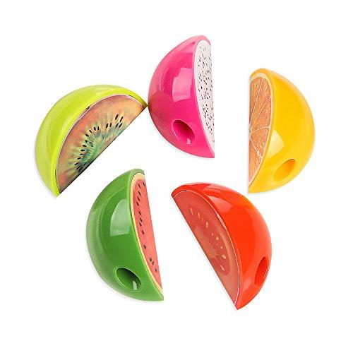 Zhi Jin 12個セット かわいい果物形鉛筆削り器 おしゃれな鉛筆削り こども 中学生 小学生のプレセント