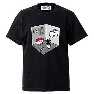 おしゅしだよ ルームTシャツ ブラック Mサイズ