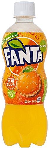 コカ・コーラ ファンタ オレンジ ペットボトル 500ml×24本