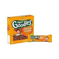 グッズココア&オレンジクリスピーバー6×18グラム (Organix) (x 6) - Organix Goodies Cocoa & Orange Crispy Bar 6 x 18g (Pack of 6) [並行輸入品]