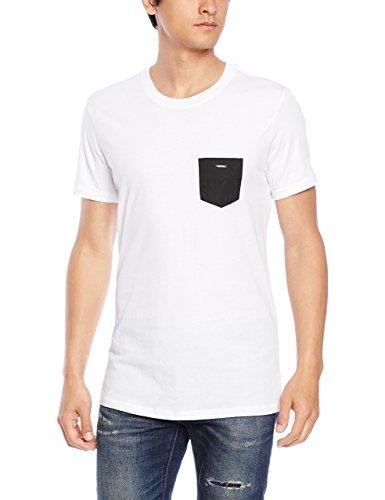 ホワイトメンズ水着TシャツBMOWT-PARSENT-SHIRT00CEMG0IANO100XL