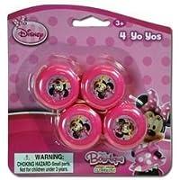 Disney Minnie Mouse Bow-tique 4 Pack Mini Yo Yo by UPD