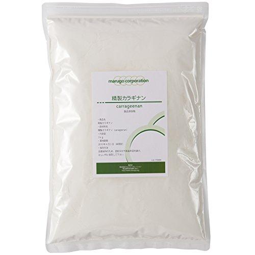 marugo(マルゴ) 精製カラギナン 食品添加物グレー ド 1kg