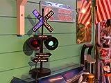 アメリカの信号機を小さくデザインした信号機のオブジェ Rail Road Sign(レイルロードサイン)San・Francisco→New York